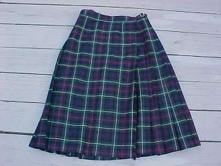 Pitlochry of Scotland Womens Tartan Plaid Kilt Skirt 14