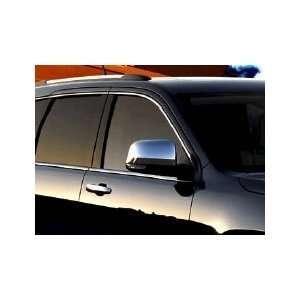 Grand Cherokee & Dodge Durango Chrome Mirror Appliques Automotive