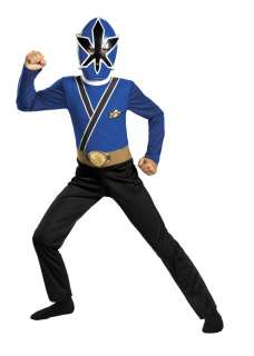 BOYS POWER RANGERS BLUE SAMURAI COSTUME DRESS DG38245 039897382463