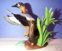 LENOX BLUE WINGED TEAL DUCK Bird NEW in Box w/COA