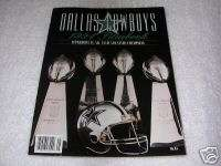 The Official 1994 DALLAS COWBOYS Team Bluebook~SIGNED by Jim Jeffcoat
