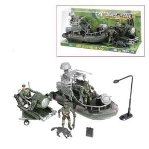 Military Force Amphibious Toy Military Camouflage Play Set
