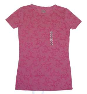 Bone Collector Ladies Burnout Pink T Shirt Hunting Tee