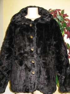 womens winter faux fur coat jacket plus size 1X 2X 3X