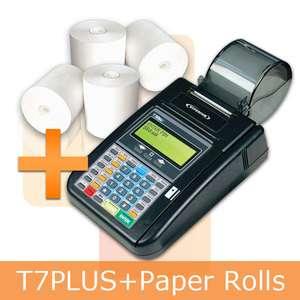 hypercom credit card machine paper