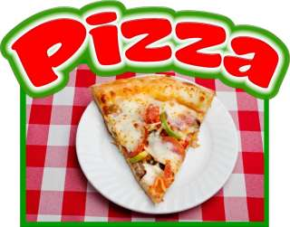 Pizza Slice Decal 14 Concession Italian Restaurant Food Truck Mobile