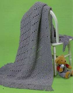 Easy Breezy Baby Afghans Crochet Patterns Book Easy NEW
