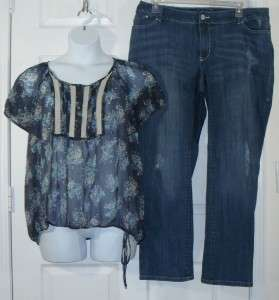 Womens 10 pc Plus Size Lot Jeans Pants Dress Skirt Shirt Top Sz 18 20