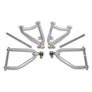 Lone Star Racing Front A Arms   2 extension, stock position   Chrome
