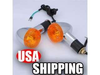 Universal Motorcycle Amber Turn Signal Lights Bulb