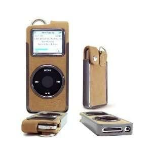 Kroo Cayman Apple iPod Nano Accessory Case   Cream Suede   Clearance