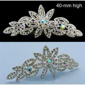NW Bridal Wedding Veil Swarovski Crystal Crown Tiara 48 Beauty