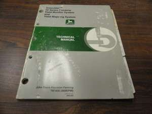 GreenStar 50 Series Combine Yield Monitor Technical Service Manual