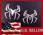 3D CHROME SPIDER SPIDERMAN DECAL CAR AUTO WINDOW STICKE