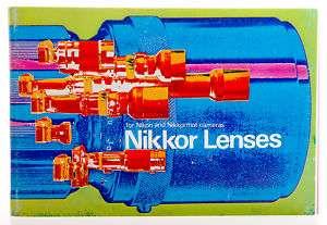Nikon F Nikkormat Camera Nikkor Lens Guide Brochure