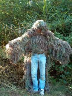 Military STALKER Ghillie Poncho Synthetic Suit Mossy 816771002002