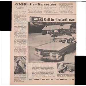Atlas Tires Batteries Accessories 2 Page 1960 Antique Car