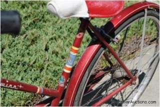 Vintage Schwinn Racer 3 Speed Girls Bicycle Bike