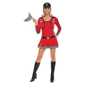 Racer Honey Adult Costume Nascar Race Car Driver Woman