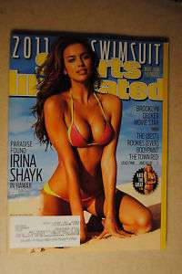 2011 Sports Illustrated Swimsuit Issue Irina Shayk