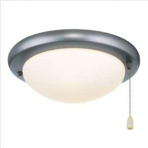 Contemporary Low Profile Ceiling Fan Light Kit Base Finish