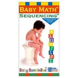 Baby Math Sequencing [VHS] Bumblebee Kids, Baby