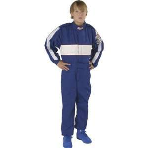 Force 4380CMDBU GF 505 Blue Child Medium Triple Layer Racing Suit