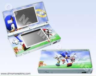 Nintendo DS Lite Skin Vinyl Decal   Sonic Rivals #2