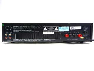 SONANCE SONAMP 260 2 CHANNEL HOME STEREO POWER AUDIO AMPLIFIER AMP 2CH