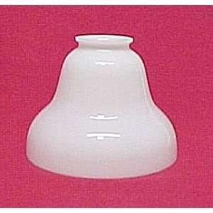 Milk Glass Bell Shape Lamp Light Fixture Shade Globe