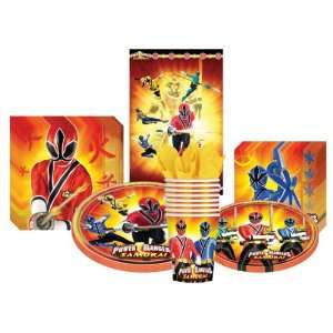 Power Rangers Samurai Deluxe Party Supplies Pack Including