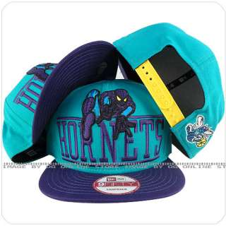 new era charlotee hornets x marvel spiderman aqua blue purple snapback