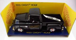 Dale Earnhardt Sr 1955 Chevrolet Diecast Black Truck CASE XX Knife
