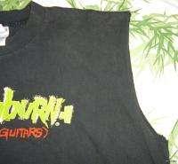Vintage CONCERT SHIRT 90s Tour T Washburn GUITAR Promo DIMEBAG