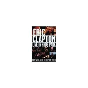 Eric Clapton in Concert At Hyde Park Music Poster 20x30