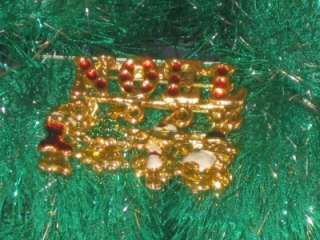 GOLDTONE NOEL CHRISTMAS PIN BOOT TREE CANDYCANE SNOWMAN