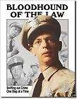 Barney Fife Bloodhound of the Law tin sign metal