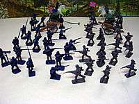 Civil War 50 Pieces Set, Cannons and Limbers, 51mm