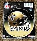 NEW ORLEANS SAINTS FLAME WINDSHIELD DECAL STICKER NFL