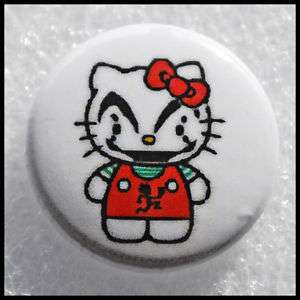 ICP   Insane Clown Posse Kitty   Hello Kitty   Button