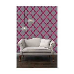 : Marrakesh Ruby Slate Designer Removable Wallpaper: Everything Else
