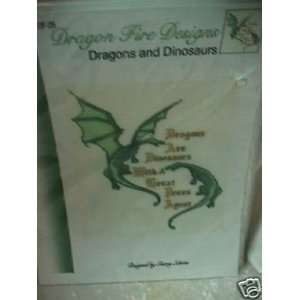 Dragon Fire Designs Dragons and Dinosaurs #DF 29 Sherry Shons Books