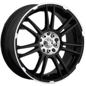 ICW Shogun 16x7.5 Black Wheel / Rim 5x100 & 5x4.5 with a 38mm Offset