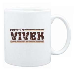 New  Property Of Vivek Retro  Mug Name:  Home & Kitchen