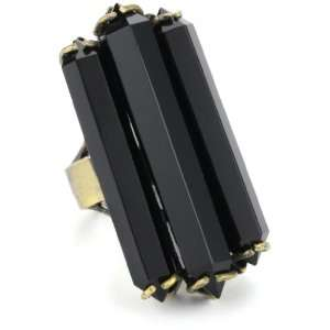 Low Luv by Erin Wasson 14k Plated Black Crystal Cocktail