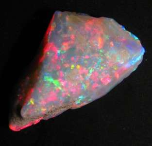 AoN Rough Opal Australian Coober Pedy s crystal 19.2cts lapidary gem
