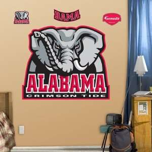 Alabama Crimson Tide Logo Fathead NIB: Everything Else