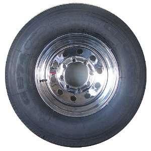 Chrome Modular 8 Lug & Radial LT285/75R16 Rim/Tire Package Automotive