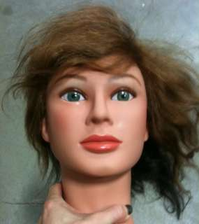 Marianna Color Manikin Head Cosmetology Mannequin Head 14119 Nicole