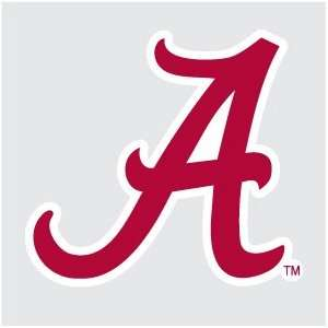 ALABAMA Crimson Tide SCRIPT A 6 Logo vinyl decal car